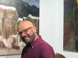Ramon Robledo in his Lambertville, NJ studio