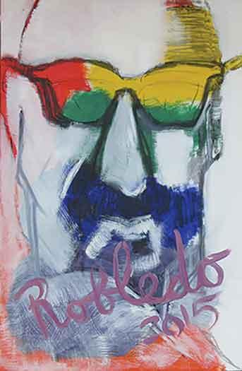 """Self Portrait"" by Ramon Robledo"