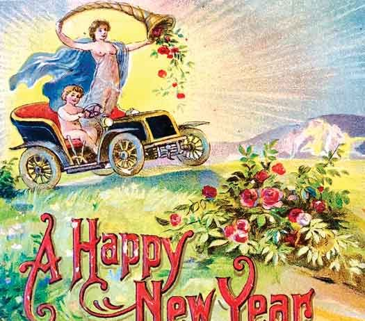Classic Happy New Year graphic