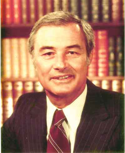 Mayor George Moscone's official photograph, taken in 1976. Photo: Courtesy of Holt-Atherton Special Collections, University of the Pacific Library