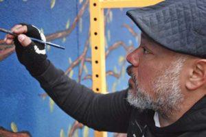New Jersey artist Marlon Davila
