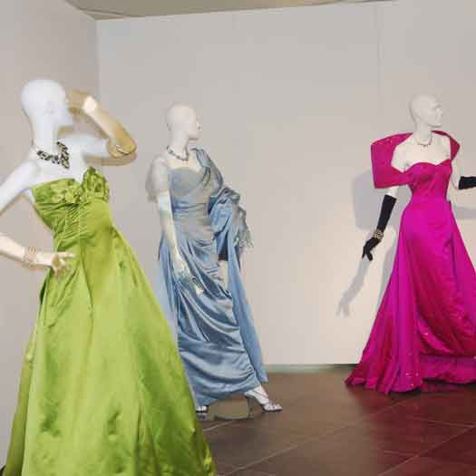 Some of the incredible gowns to view at