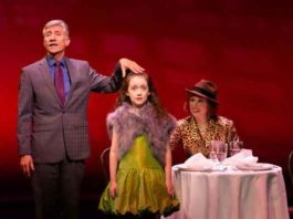 """""""Pamela's First Musical"""" with David Garrison, Sarah McKinley Austin and Carolee Carmello at Two River Theater. All Photos by T. Charles Erickson ."""