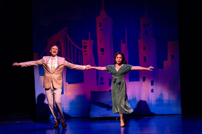"""""""Pamela's First Musical with Howard McGillin and Andrea Burns at Two River Theater."""