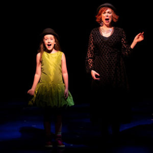 """P""""Pamela's First Musical"""" with Sarah McKinley Austin and Carolee Carmello at Two River Theater."""
