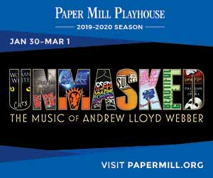 Paper Mill Playhouse banner ad