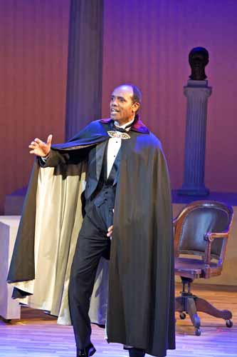 """Paul Robeson,"" is a one-man show with Nathaniel Stampley"