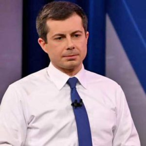 Pete Buttigieg in Nevada Town Hall in February 2020 for CNN