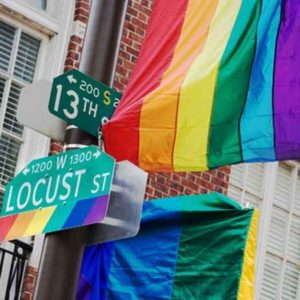 Philadelphia's Gayborhood. Photo by J. Smith for Visit Philadelphia