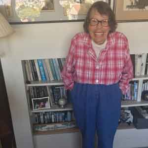 Phyllis Lyon stands in the living room of her Noe Valley home in San Francisco. Photo: Alex Madison