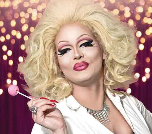 Drag artist and comedian Pissi Myles