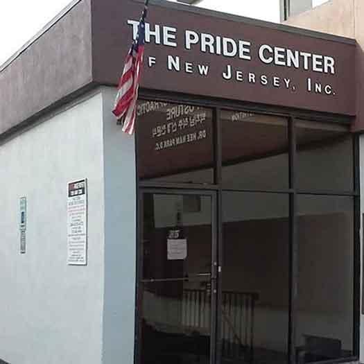 Pride Center of NJ building in Highland Park