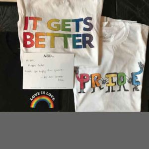 LGBT Pride Items from American Eagle