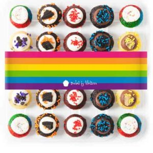 LGBT Pride baked goods from Baked By Melissa