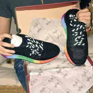 LGBT Pride shoes from Under Armour