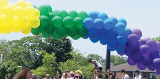 Asbury Park Jersey LGBTI Pride Parade in 2015 photo by Steve Dovidio
