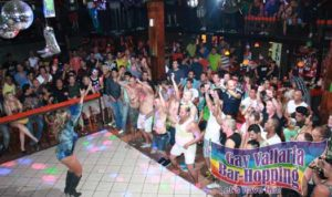Puerto Vallarta, Mexico LGBT bar event stage photo