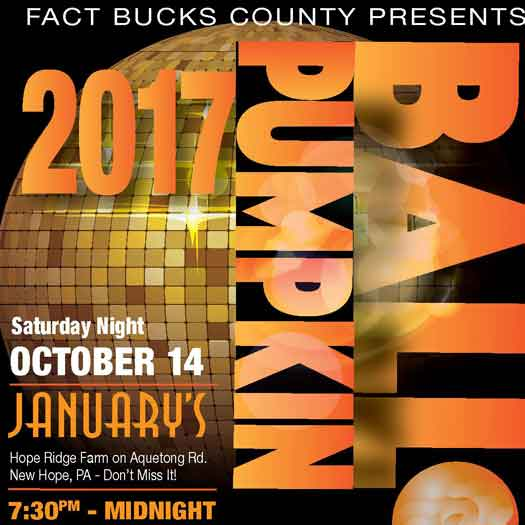 Pumpkin Ball returns to January's in New Hope, PA