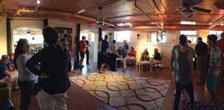 The inside of the Qspot LGBT Center in Ocean Grove, NJ