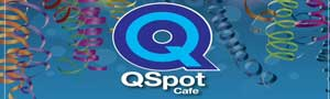 Qspot LGBTQ Center cafe banner ad