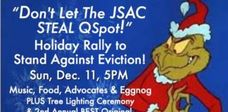 Qspot eviction rally 12-11-16