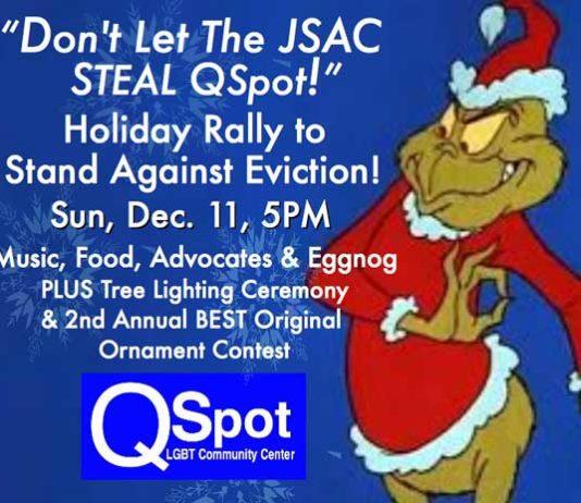 Qspot eviction rally 12-11-16
