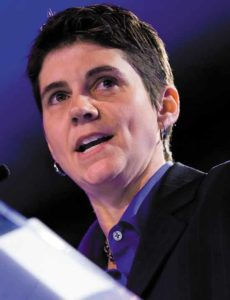 Rea Carey, executive director of the National LGBTQ Task Force in 2009