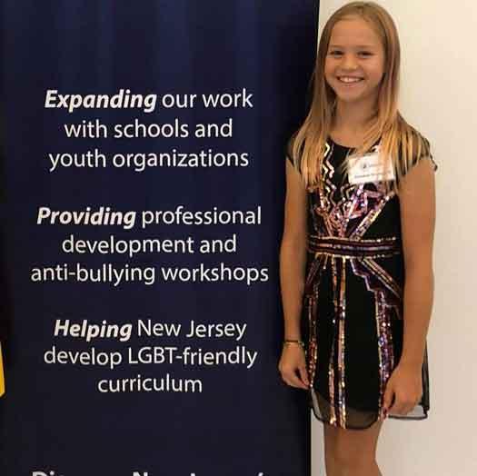 Rebekah Bruesehoff of Sussex County NJ is a teenage trans activist