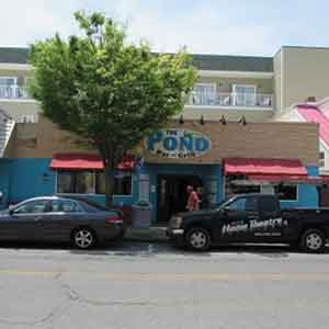The Pond Bar and Grill in Rehoboth Beach Delaware
