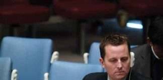 Richard Grenell at UN Security Council meeting