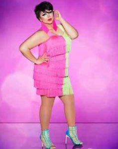 "Kalorie Karbdashian-Williams on ""RuPaul's drag Race"""