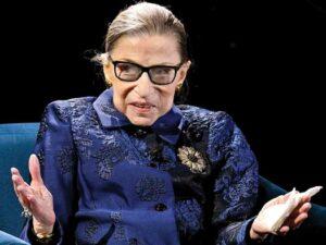 Ruth Bader Ginsburg on Axios TV