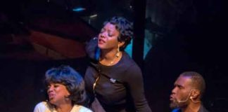 """Sarah Sings A Love Story at Crossroads Theatre photo by Scott Mendenko."