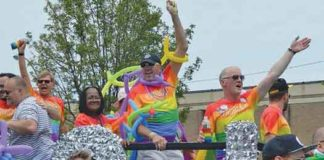 Jersey Pride Parade in June 2017 photo by Cathy Renna