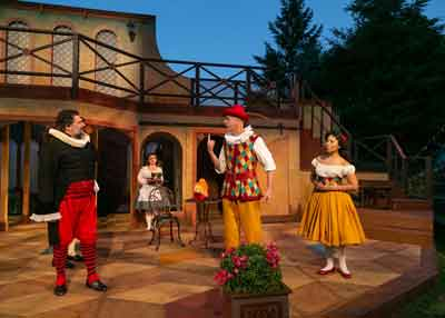 """The Servant of Two Masters"" is presented by the Shakespeare Theatre of New Jersey"