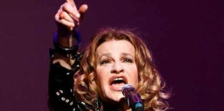 Sandra Bernhard performs in Asbury Park