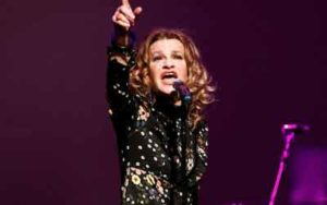 Sandra Bernhard performed at House of Independents in Asbury Park., NJ. Photo by Michael Cook.