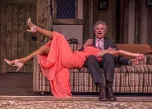 """A Scene from """"Accomplice"""" at the Bickford Theatre. Photos by Warren Westura."""