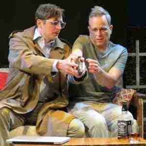 "Pictured Jacob A. Ware and Christopher Daftsios in ""Mercy"" photo by SuzAnne Barabas"