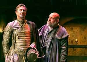 """Shakespeare in Love""screenplay by Marc Norman and Tom Stoppard at the Shakespere Theatre of NJ. Photos by Jerry Dalia"