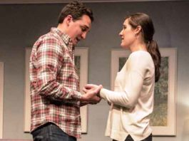 """Bickford Theatre's production of """"Clever Little Lies."""""""