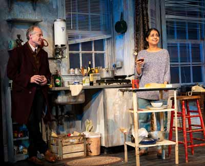 "A scene from ""Skylight"" at McCarter Theatre"