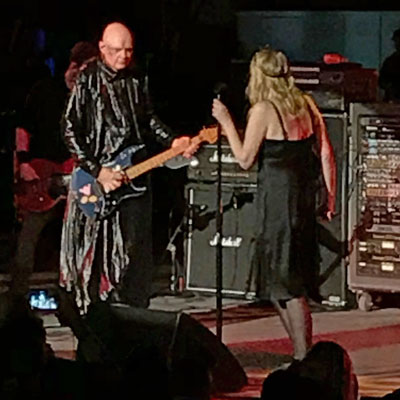 The Smashing Pumpkins with guest Courtney Love at PNC Arts Center. Photos by Will Loschiavo