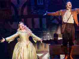 """Something Rotten!"" at the Kimmel Center. Photo by Jeremy Daniel"