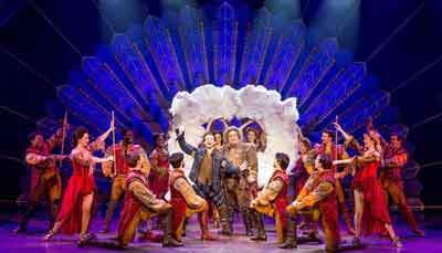 """""""Something Rotten!"""" at the Kimmel Center. Photo by Jeremy Daniel"""