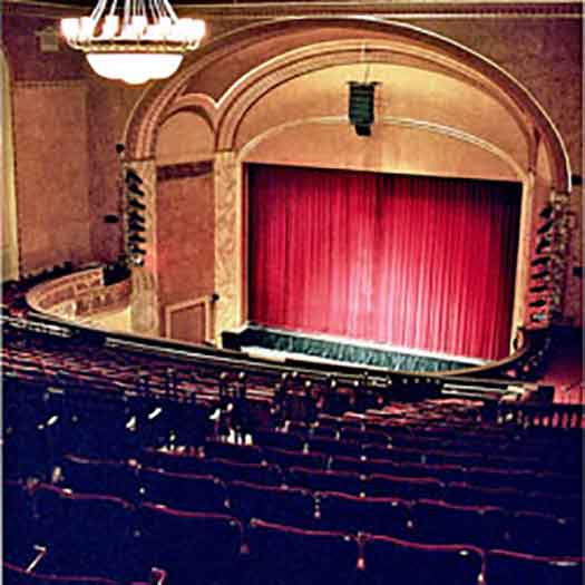 State Theatre of NJ stage