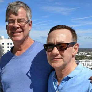 Stephen Mandeville and Victor Aluise are LGBT community members and advocates