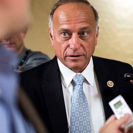 Anti-LGBT Iowa Republican Steve King