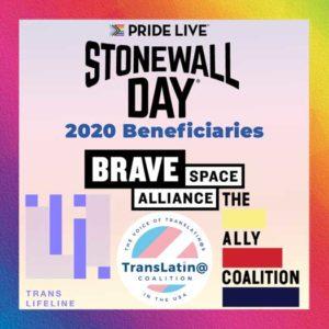 Stonewall Day 2020 promo