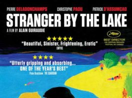 "DVD Cover of ""Stramger by the lake:"